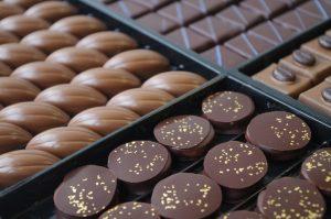La chocolaterie au Marché de Noël des Monts du Lyonnais