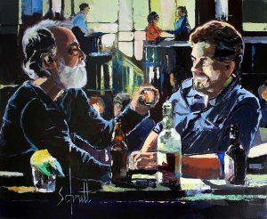 CAFÉ XXI - accoudés au bar