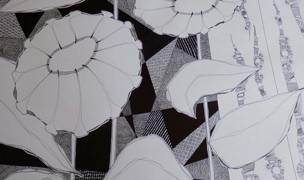 Tableau Histoires en noir et blanc